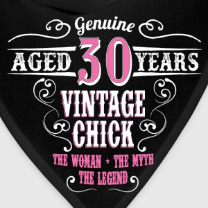 Vintage Chick Aged 30 Years... Women's T-Shirts - Bandana