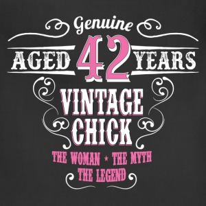 Vintage Chick  Aged 42 Years... Women's T-Shirts - Adjustable Apron