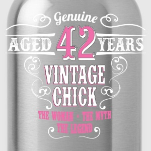 Vintage Chick  Aged 42 Years... Women's T-Shirts - Water Bottle