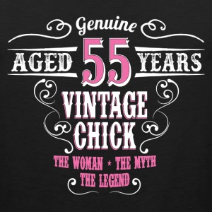 Vintage Chick Aged 55 Years... Women's T-Shirts - Men's Premium Tank