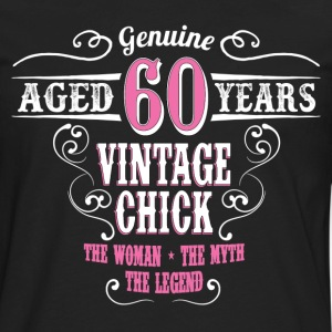 Vintage Chick Aged 60 Years... Women's T-Shirts - Men's Premium Long Sleeve T-Shirt