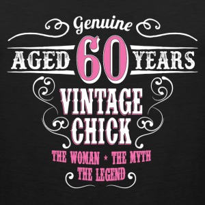 Vintage Chick Aged 60 Years... Women's T-Shirts - Men's Premium Tank