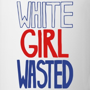 WHITE GIRL WASTED Women's T-Shirts - Coffee/Tea Mug