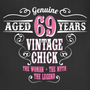 Vintage Chick Aged 69 Years... Women's T-Shirts - Adjustable Apron