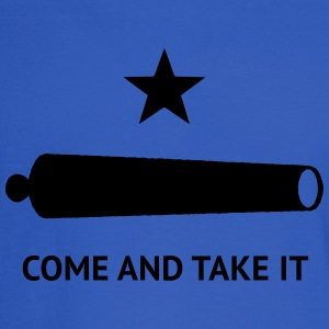 Texas Come and Take It Battle Flag - Men's Long Sleeve T-Shirt