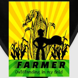 Farmer Outstanding In My Field - Bandana