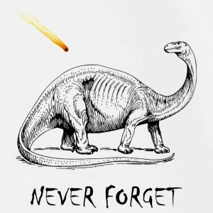Never Forget Dinos - Men's Premium T-Shirt