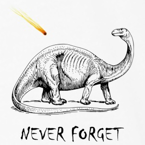 Never Forget Dinos - Men's Premium Long Sleeve T-Shirt