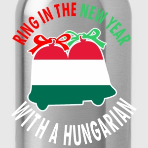 Ring In The New Year With A Hungarian - Water Bottle