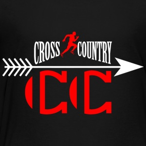 Cross country Sweatshirts - Toddler Premium T-Shirt