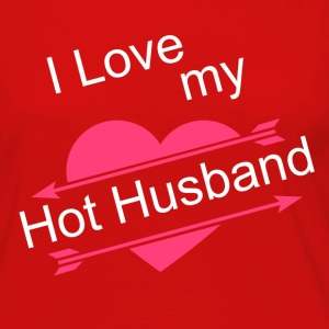 I love My Hot Husband - Women's Premium Long Sleeve T-Shirt