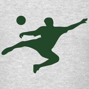 SOCCER KICK Sweatshirts - Men's T-Shirt