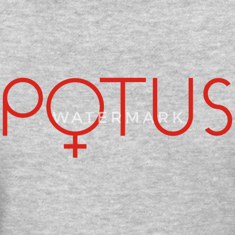 POTUS Hillary t-shirt 2016 female symbol red - Women's T-Shirt