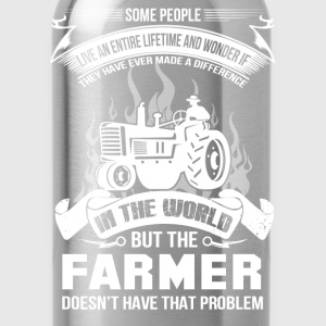 farmer, farmers daughter, farmer gift idea - Water Bottle