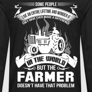 farmer, farmers daughter, farmer gift idea - Men's Premium Long Sleeve T-Shirt