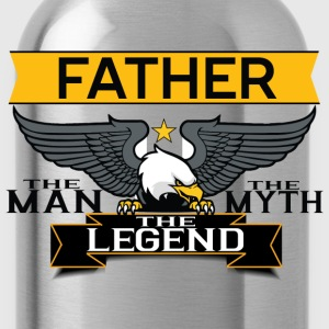 Father The Man The Myth The Legend T-Shirts - Water Bottle