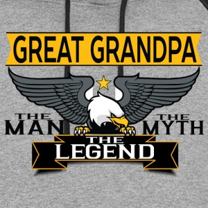 Great Grandpa The Man The Myth The Legend T-Shirts - Colorblock Hoodie