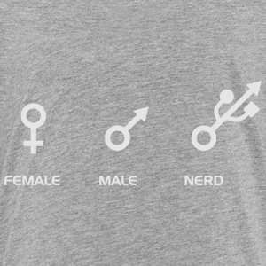 FEMALE - MALE - NERD Kids' Shirts - Toddler Premium T-Shirt