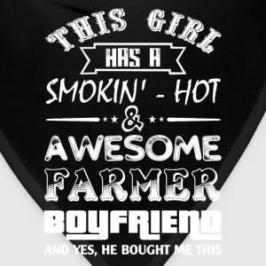 farmer's wife farmer girlfriend love with a farmer - Bandana