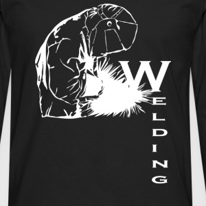 Welding - Men's Premium Long Sleeve T-Shirt