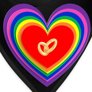 Rainbow marriage T-Shirts - Bandana