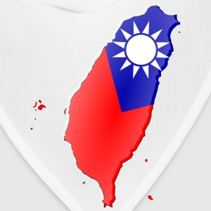 Taiwan-flag map T-Shirts - Bandana