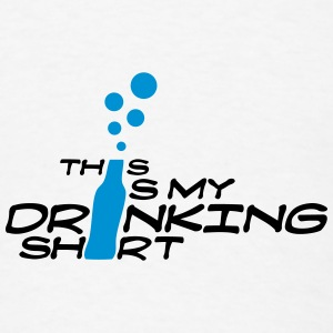 This is My Drinking Shirt Mugs & Drinkware - Men's T-Shirt