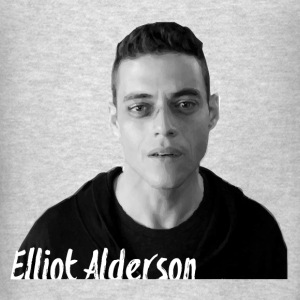 Mr. Robot – Elliot Alders Hoodies - Men's T-Shirt