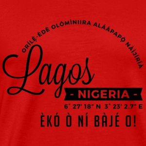 Lagos Tanks - Men's Premium T-Shirt