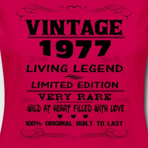 VINTAGE 1977 Women's T-Shirts - Women's Premium Long Sleeve T-Shirt
