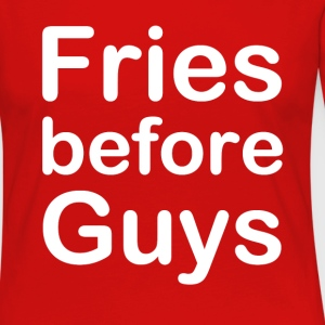 Fries Before Guys - Women's Premium Long Sleeve T-Shirt