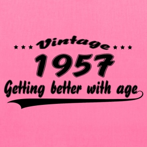 Vintage 1957 Getting Better With Age Women's T-Shirts - Tote Bag