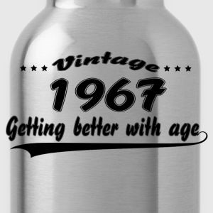 Vintage 1967 Getting Better With Age Women's T-Shirts - Water Bottle