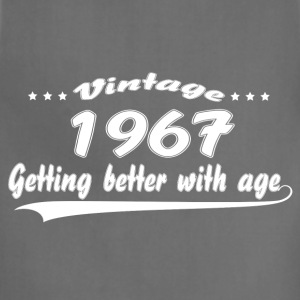 Vintage 1967 Getting Better With Age Women's T-Shirts - Adjustable Apron