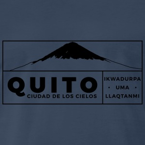 Quito Tank Tops - Men's Premium T-Shirt