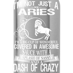 Aries Splash Of Sassy And A Dash Of Crazy - Water Bottle