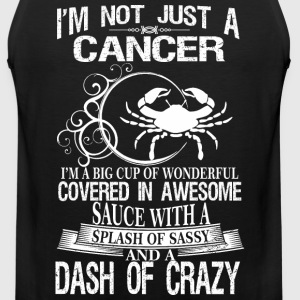 Cancer Splash Of Sassy And A Dash Of Crazy - Men's Premium Tank
