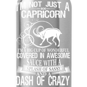 Capricorn Splash Of Sassy And A Dash Of Crazy - Water Bottle