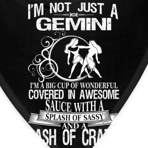 Gemini Splash Of Sassy And A Dash Of Crazy - Bandana