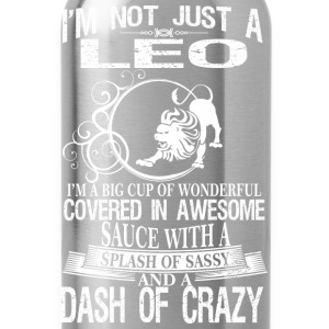 Leo Splash Of Sassy And A Dash Of Crazy - Water Bottle