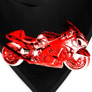 SUZUKI HAYABUSA 1300 RED Long Sleeve Shirts - Bandana