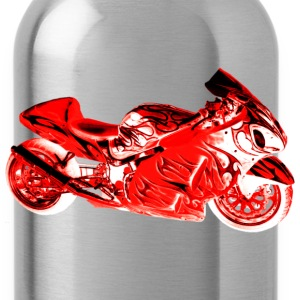 SUZUKI HAYABUSA 1300 RED Long Sleeve Shirts - Water Bottle
