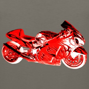 SUZUKI HAYABUSA 1300 RED Long Sleeve Shirts - Men's Premium Tank