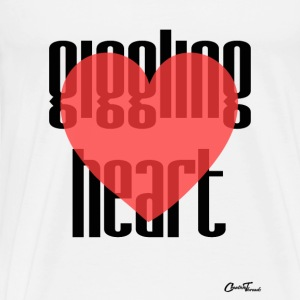 Giggling heart Tank Tops - Men's Premium T-Shirt