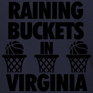 Raining Buckets In Virginia T-Shirts - Men's Zip Hoodie