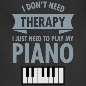 Therapy - Piano T-Shirts - Adjustable Apron