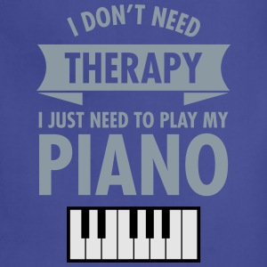 Therapy - Piano Women's T-Shirts - Adjustable Apron