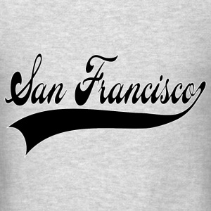 san francisco Hoodies - Men's T-Shirt