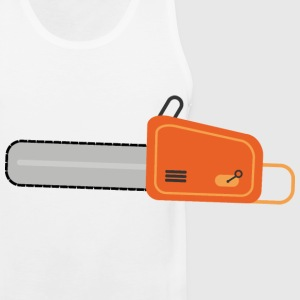 chainsaw Caps - Men's Premium Tank