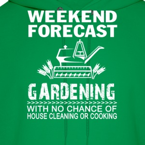 WEEKEND FORECAST GARDENING - Men's Hoodie